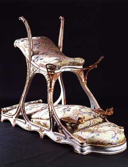 Chair 1890 Commissioned By Edward Vii 1841 1910 For A Brothel He Frequented Dungeon Furniture