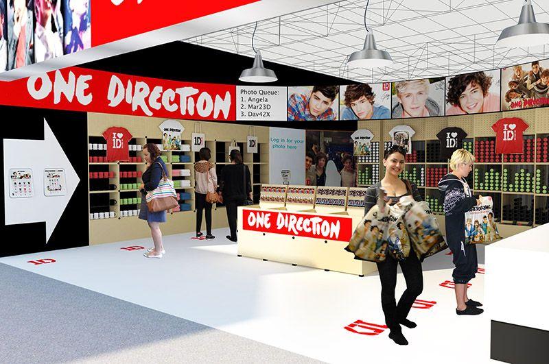 e473adc31 Sony Music Pop-up concept store | Pop Ups | Pop up restaurant, Pop ...