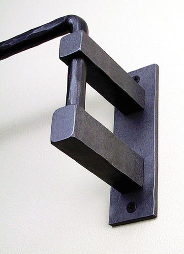 install swing arm curtain rods swing