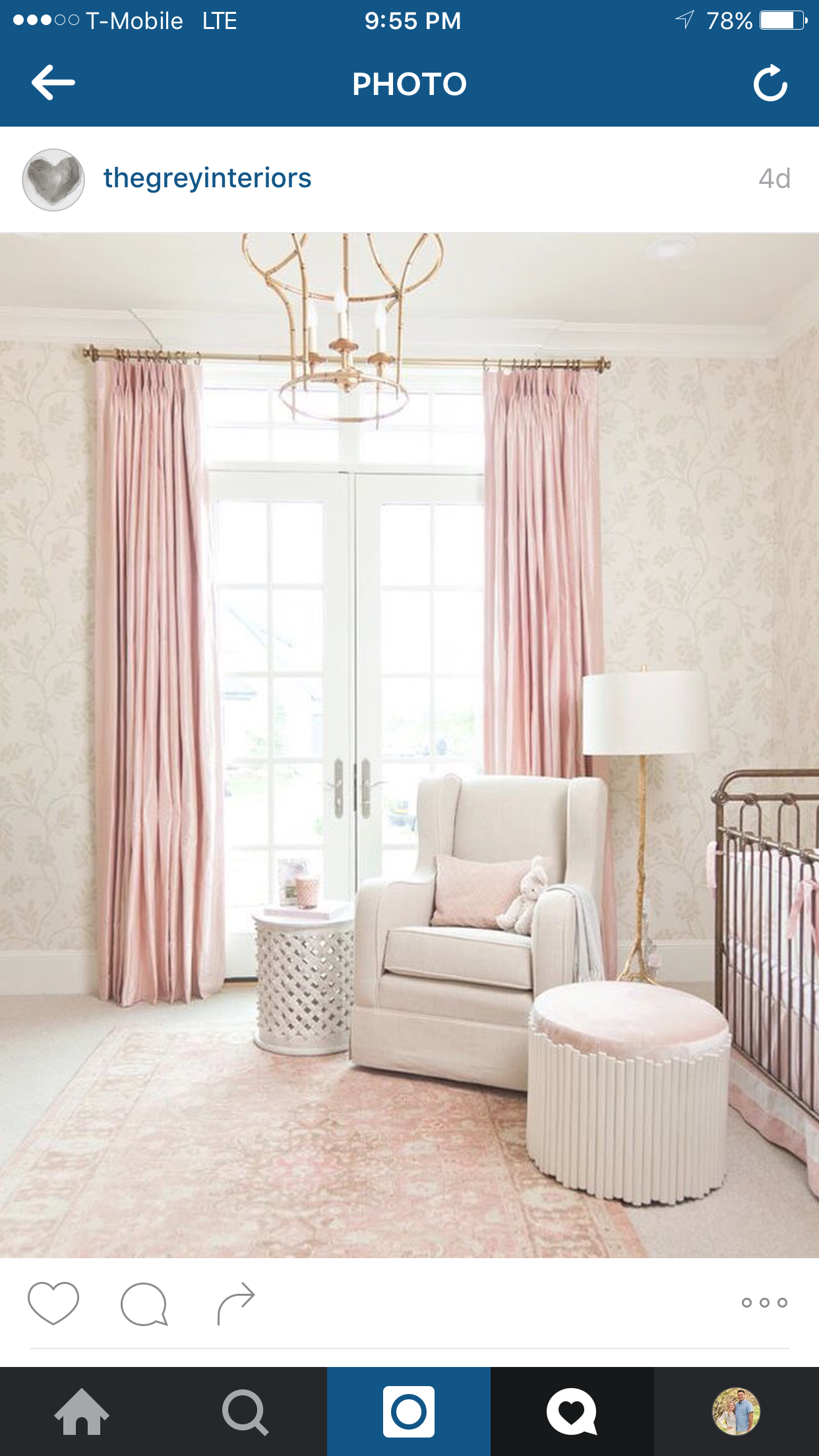 Islas Nursery Reveal {And Giveaway}  Pink Peonies By Rach