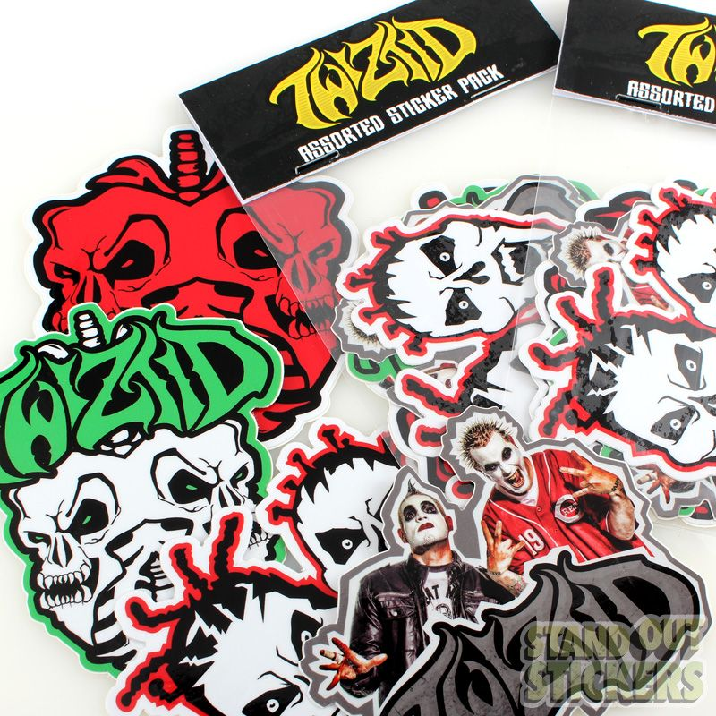 Twiztid vinyl sticker packs sticker packs view samples standout stickers