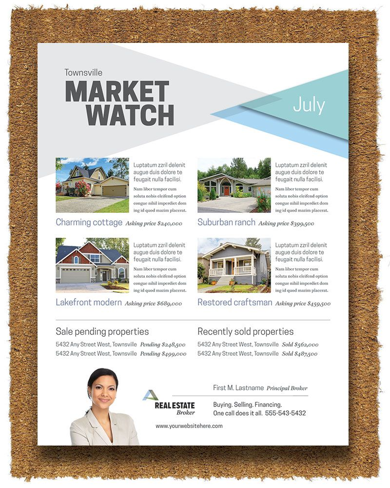 realtor flyer template by stocklayouts all about real estate
