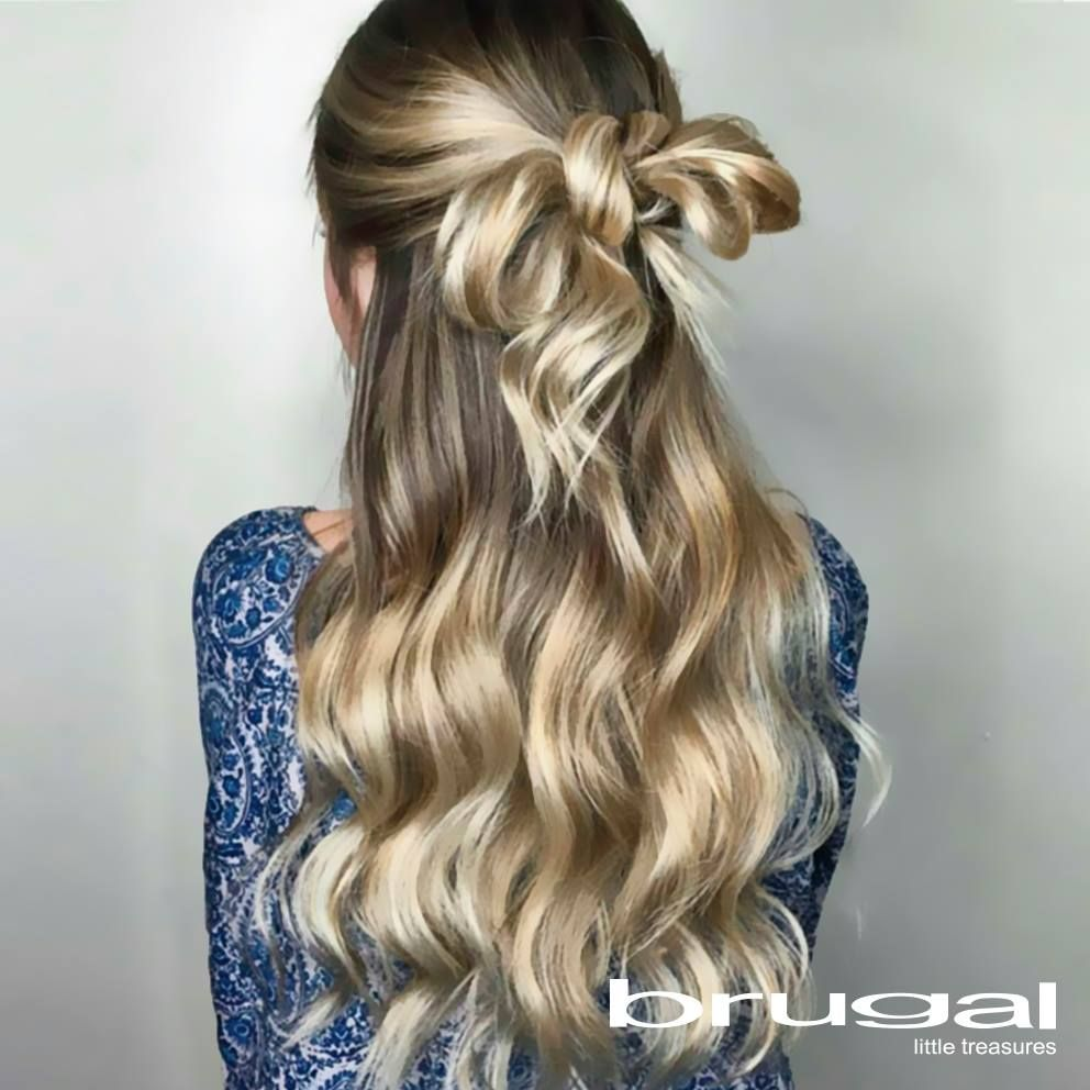 Además de tus accesorios para hacerte resaltar, puedes realizar este peinado. ¡Encantarás!