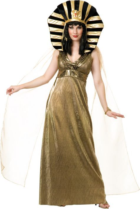 68346429125f2 Adult Gold Cleopatra Costume - Party City | Egyptian Witch in 2019 ...