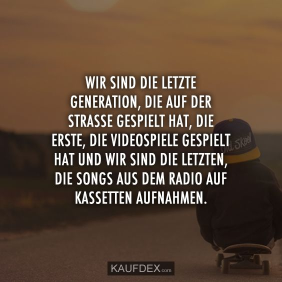 Photo of We are the last generation on the street … | Purchase Dex
