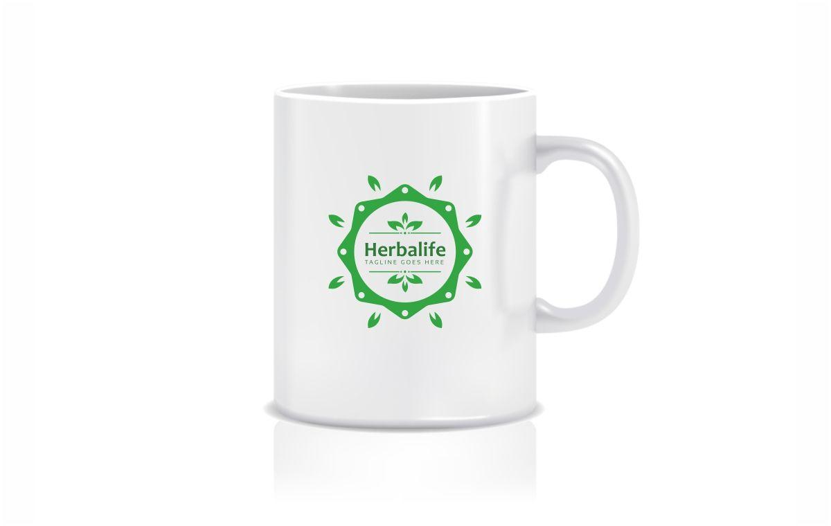 Herbalife health eco logo template 71784