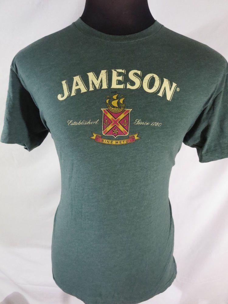 8f8082939b9 Jameson Irish Whiskey Mens Large Shirt Green American Apparel   AmericanApparel  GraphicTee