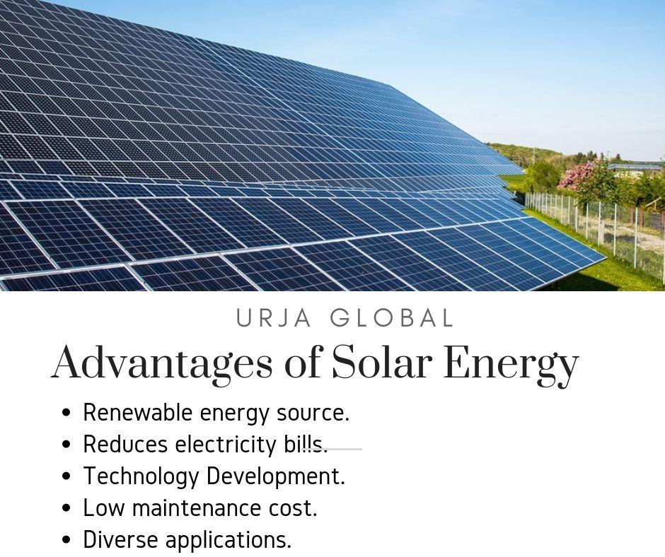 Advantages Of Solar Energy Solarenergy Solarpanels Urjasolarpanels Renewableenergy Solarpower Tech Solar Advantages Of Solar Energy Solar Power