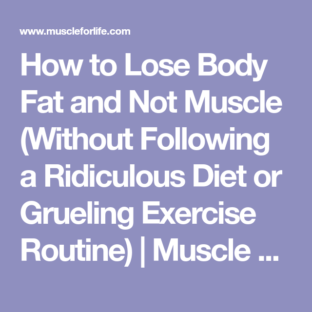 lose fat for summer