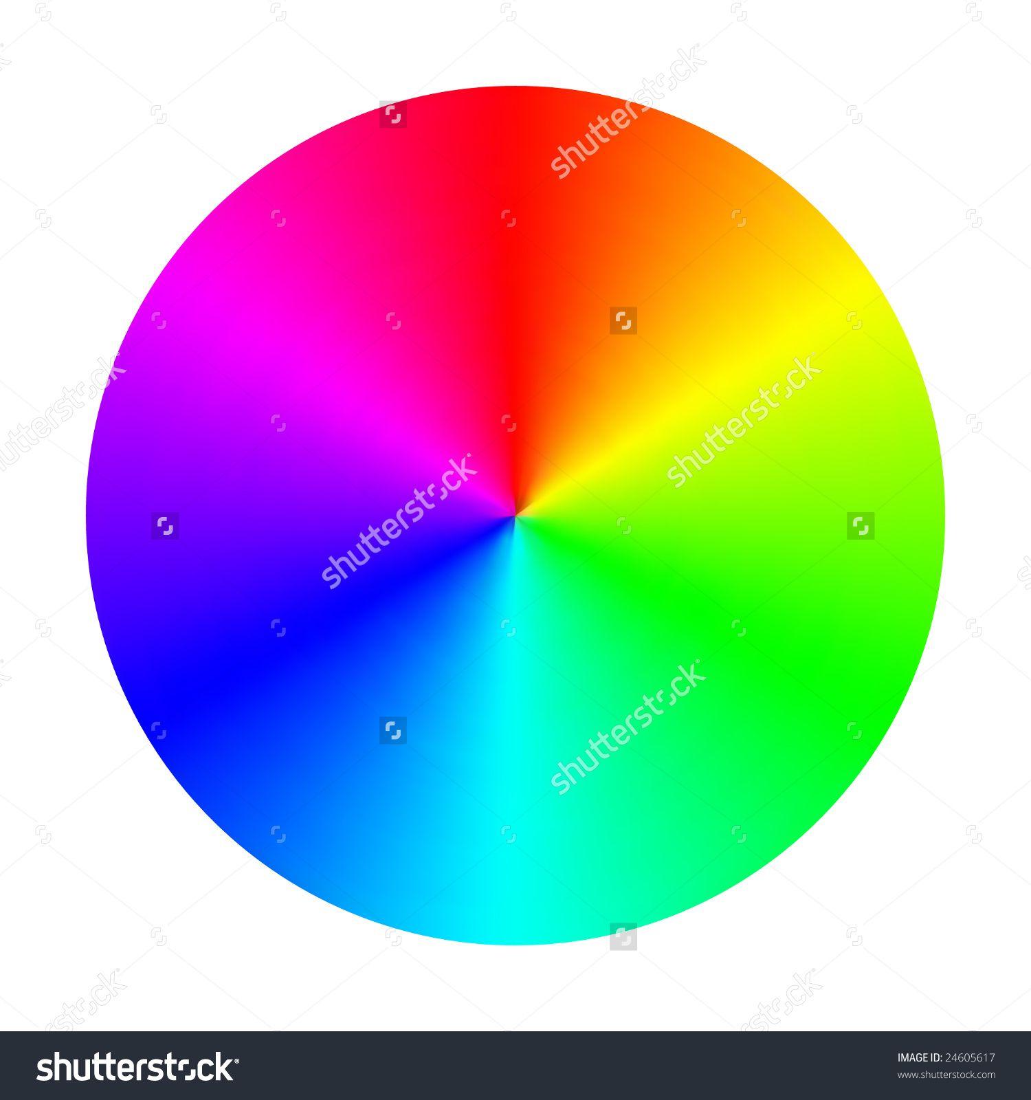 Stock Vector Color Spectrum Wheel 24605617