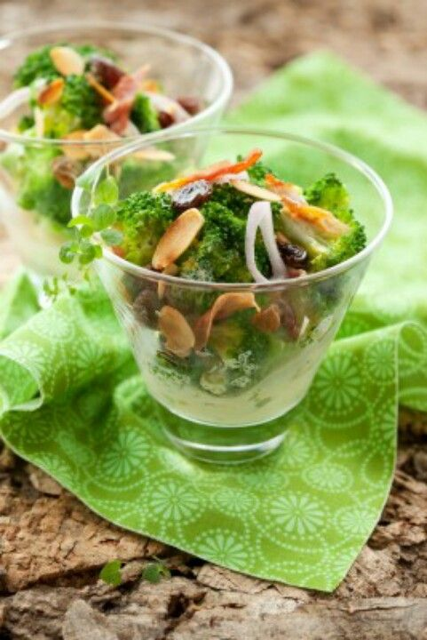 Gluten Free Broccoli Salad with Bacon