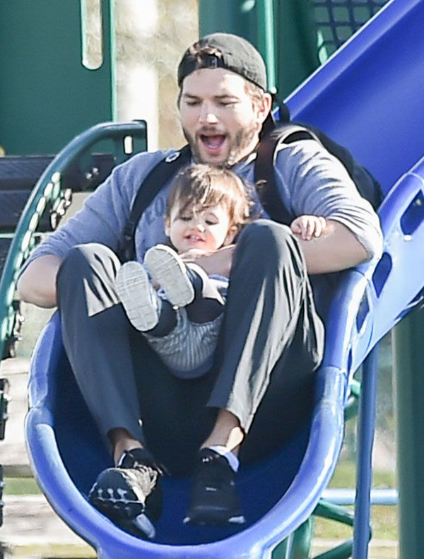 Tiny Dancer Ashton Kutcher Reveals Mila Kunis Taught Baby Wyatt