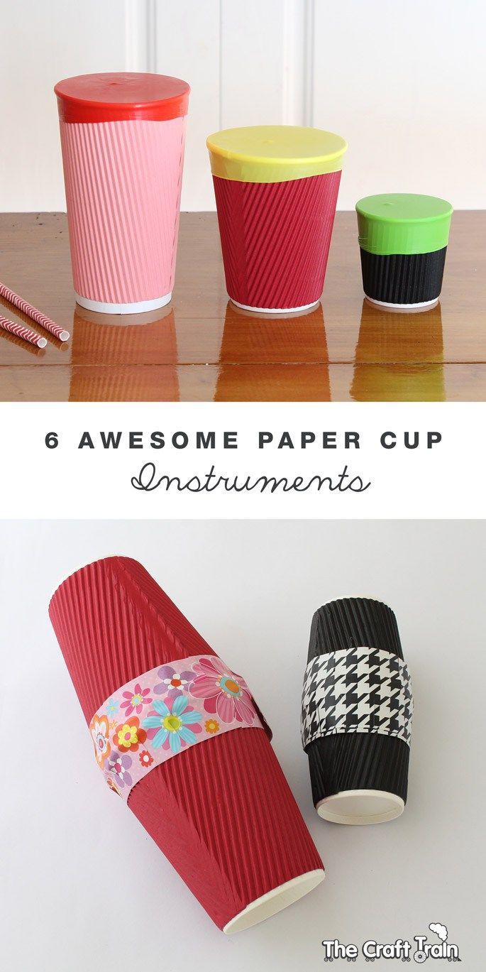 15++ Paper cup craft activities info