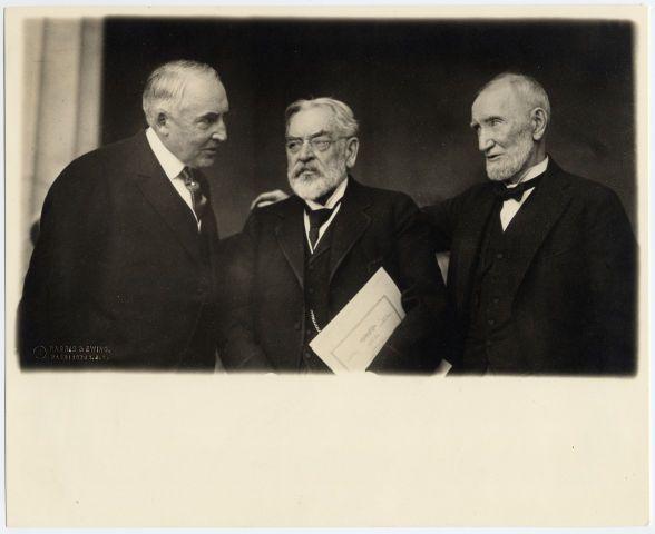 *ROBERT TODD LINCOLN ~ with Warren G. Harding and Joseph ...