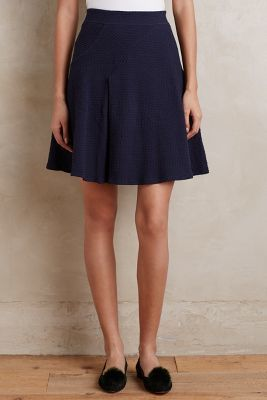 HD in Paris Paneled Pleats Skirt #anthrofave