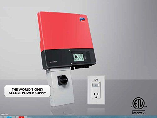 Sma Sunny Boy Sb3000tl Us 22 Single Phase240vac Grid Tied With Dc Disconnect Inverter Solar Inverter Power Supply Solar