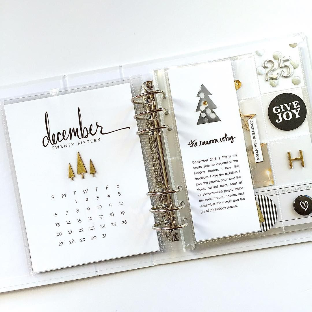 decemberdaily foundation pages | Christmas Memory Keeping ...