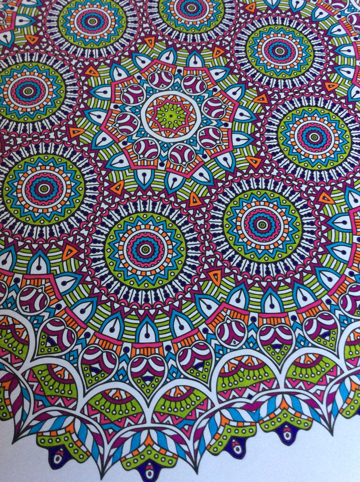 Enige echte mandala kleurboek 2 stabilo 88