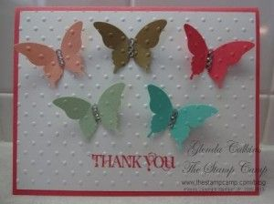Stampin' Up! InColor Thank You Cards