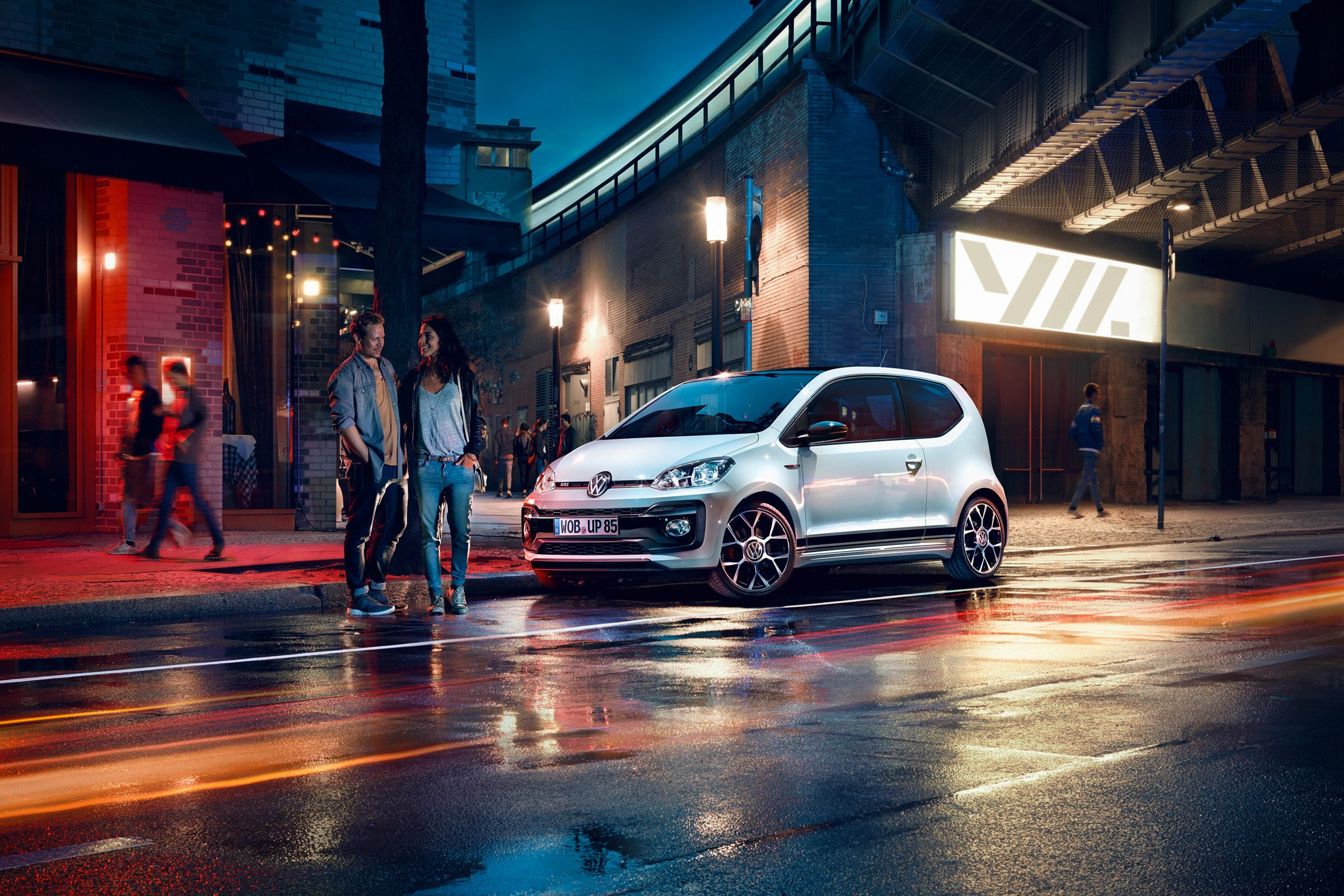 The All New Vw Up Gti Photographed In The Streets Of Berlin Vw