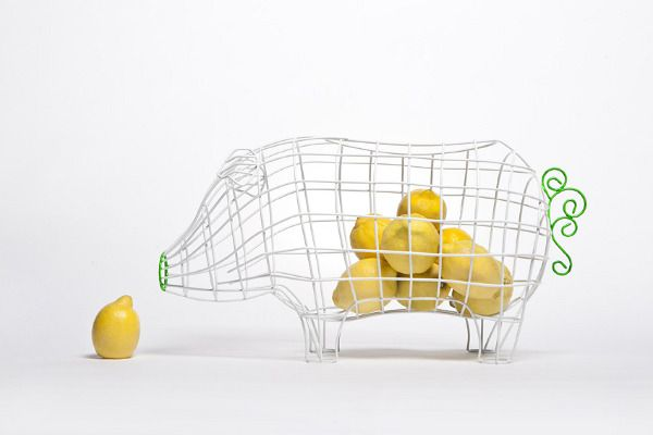 A Collection Of Baskets For Seletti. 2011 Designed By: Valentina Carretta  Commissioned By: Seletti Pictures By A.
