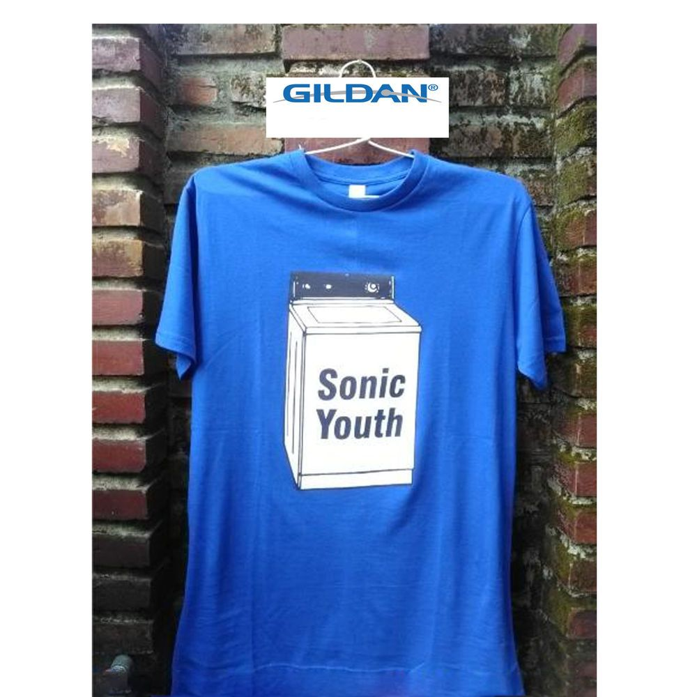 SONIC YOUTH GOO Official T Shirt Size XXL White Mens Licensed Merch New