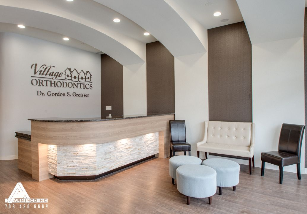Dental Office Design by Arminco Inc.  | Reception Desks ...