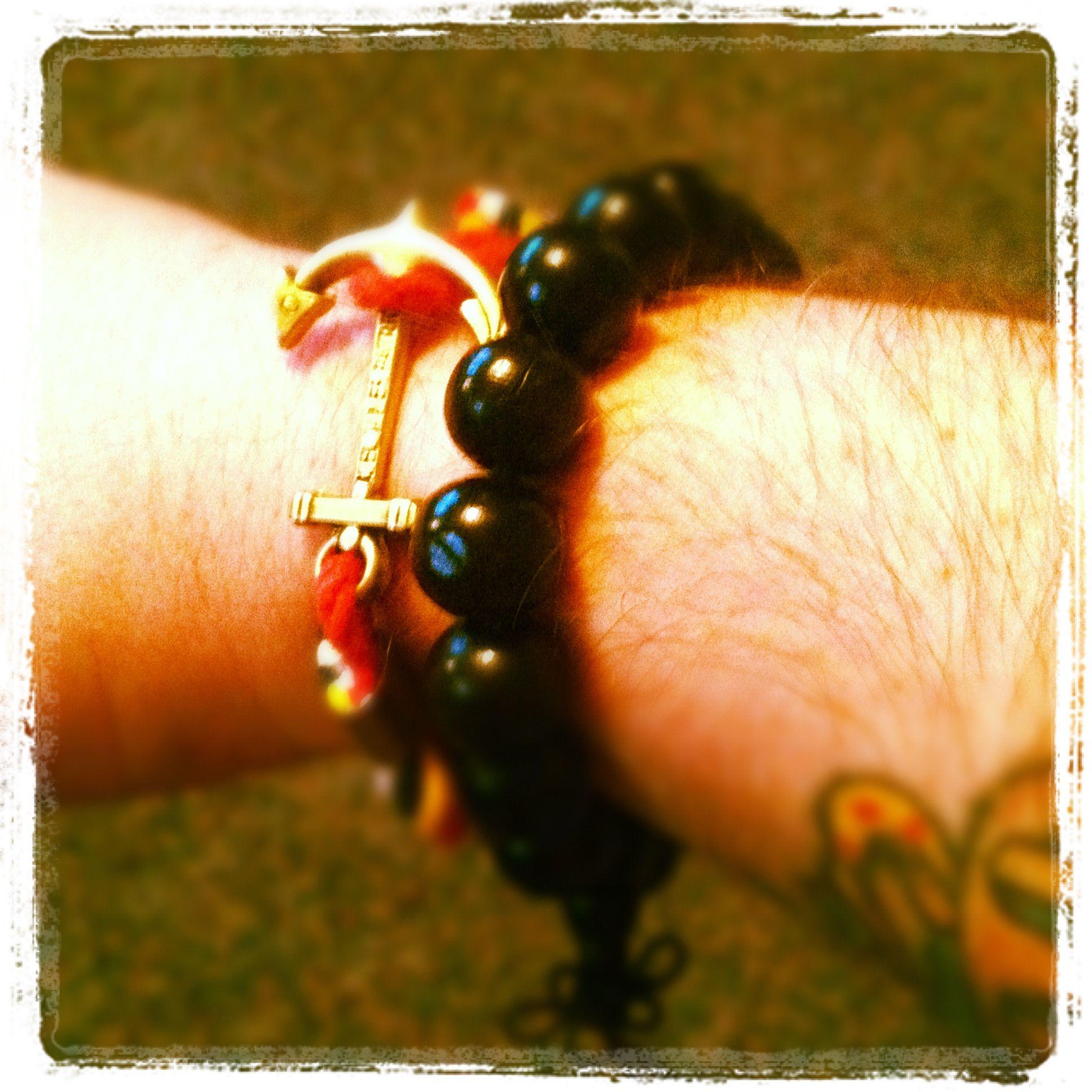 My new Kiel James Patrick anchor bracelet