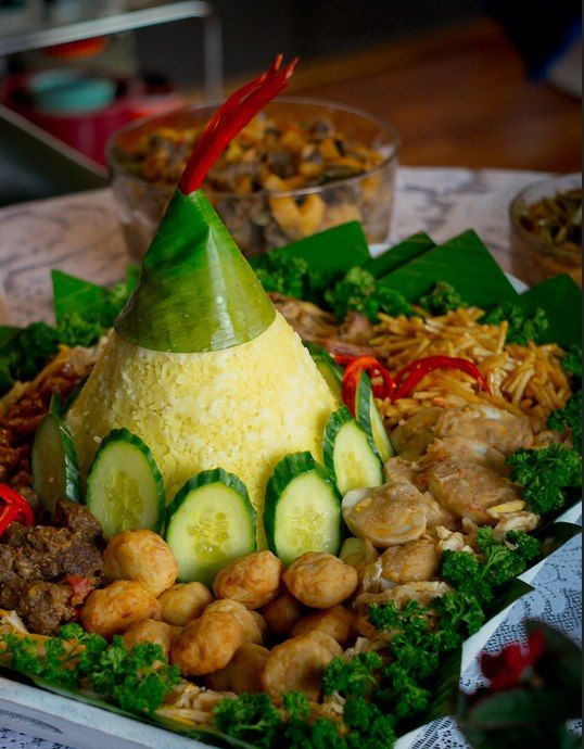 Traditional events food indonesia food pinterest for Authentic indonesian cuisine