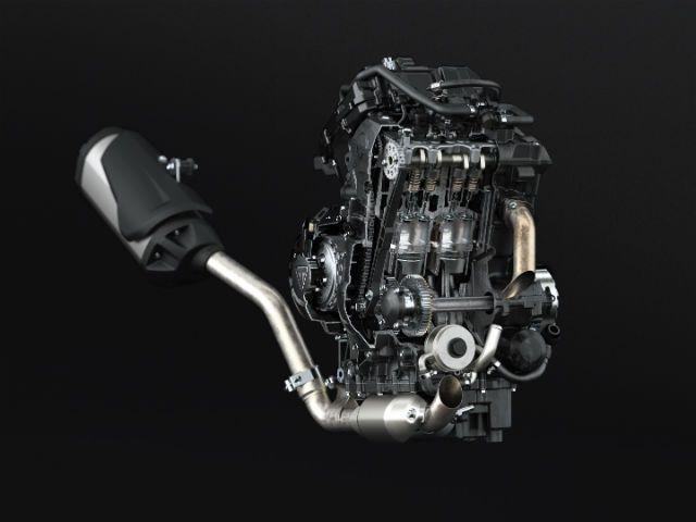 2015 Triumph Tiger 800 engine
