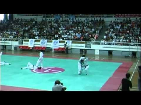Korean Martial Artists in real action.
