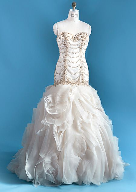 The Ariel wedding gown from the Alfred Angelo Bridal Collection ...