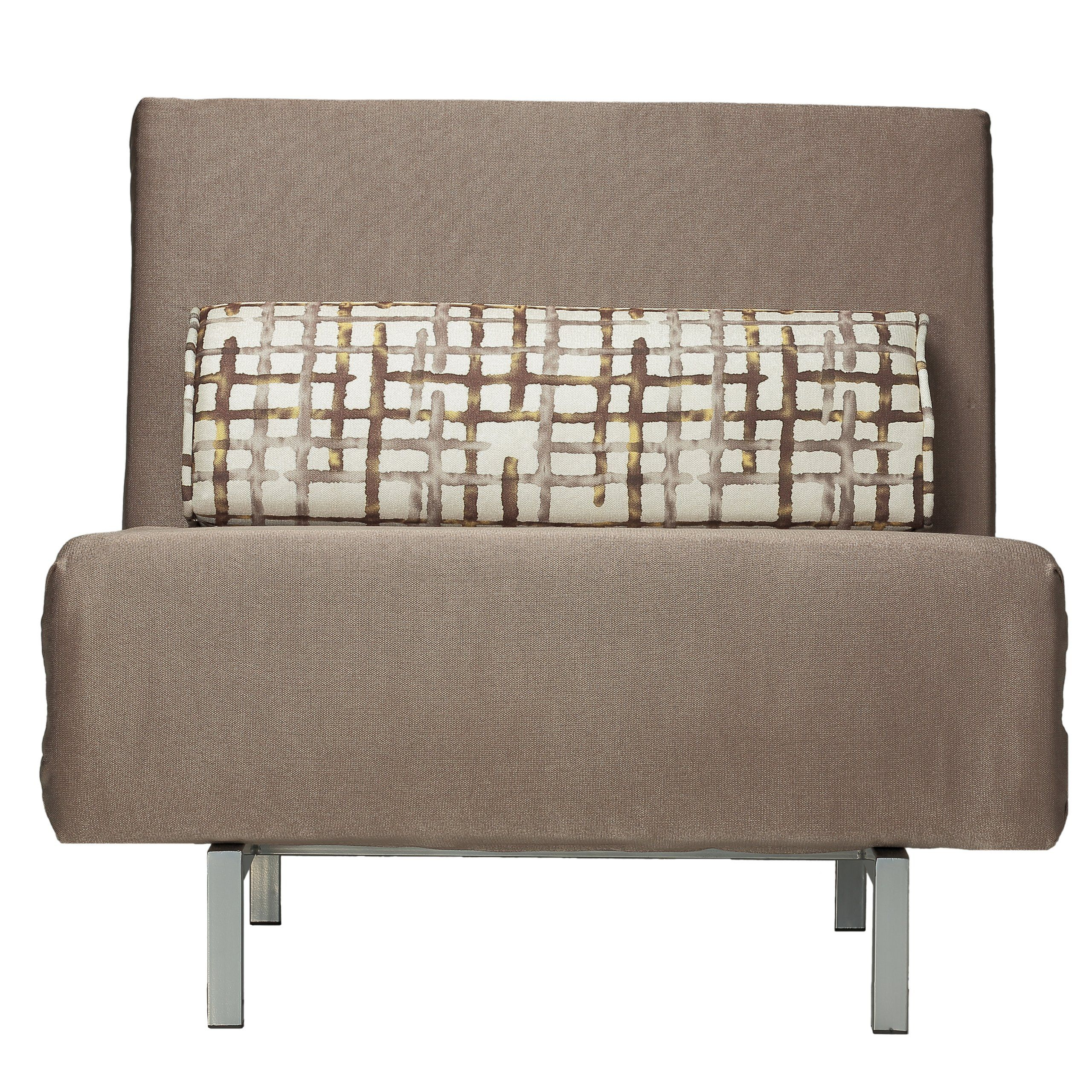 Fabulous Cortesi Home Savion Convertible Accent Chairbed Taupe Dailytribune Chair Design For Home Dailytribuneorg