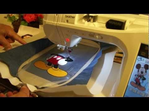 Brother embroidery. Innov-is 2800D demo # 8. | Couture | Pinterest ...