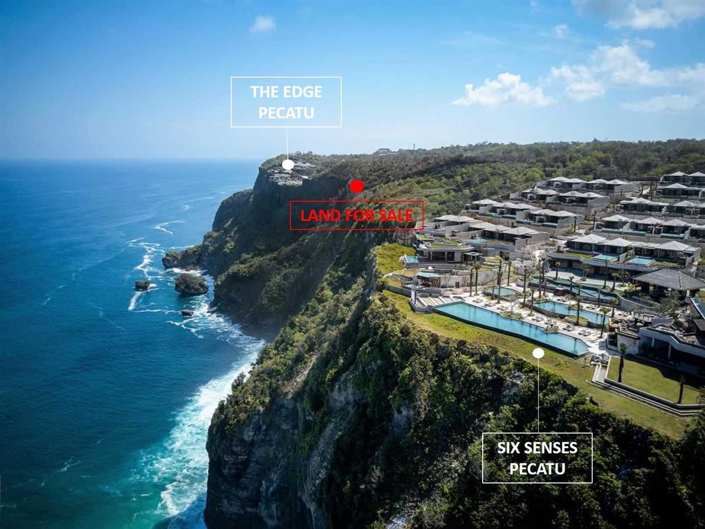Developer Dream Plot Cliff Front Land In The Bukit Between Six Senses And The Edge Located In Pecatu This Absolutely Stunning P Luxury Estate Freehold Bali