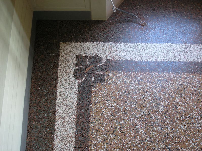Pavimenti in terrazzo o seminato alla veneziana - Piastrelle tipo veneziana ...