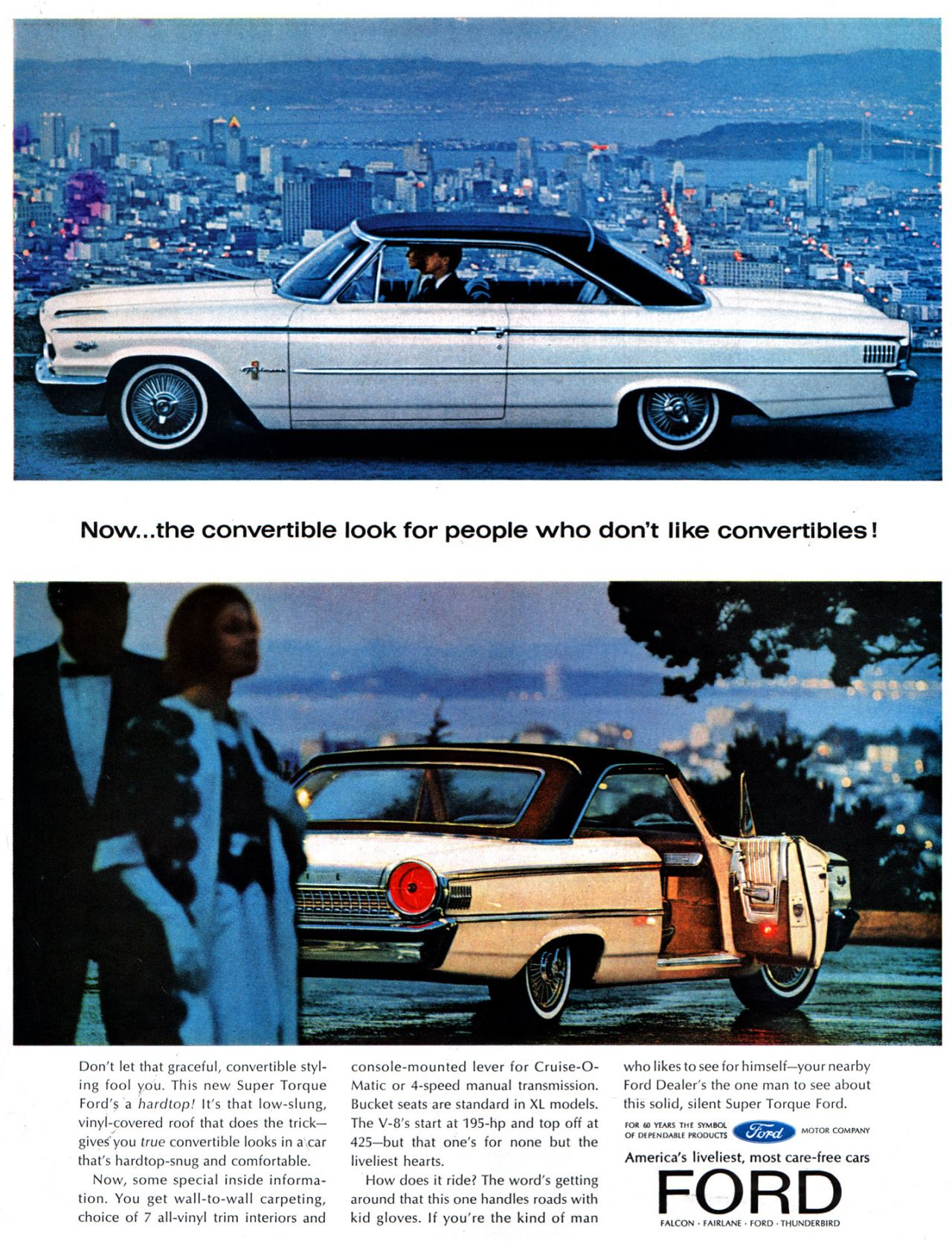 1963 Ford Fords Pinterest Cars And Ads 1964 Fairlane Bucket Seats