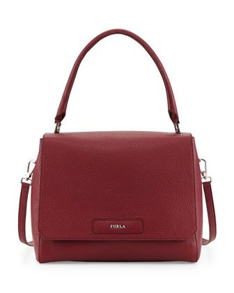 d379eec4d1d92c Patty Medium Leather Shoulder Bag, Bordeaux by Furla at Neiman Marcus Last  Call.