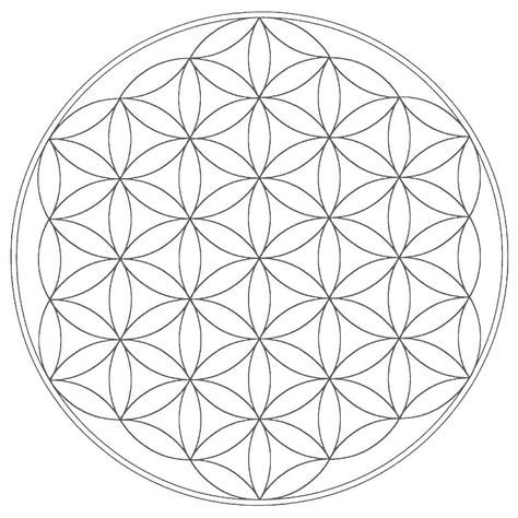 Cg Sacred Geometry Free Mandala Templates Geometric Coloring Pages Sacred Geometry Flower Of Life