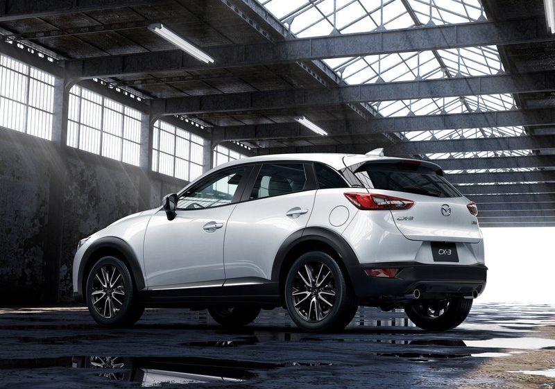 Allnew Mazda CX3 SUV Crossover NewCar White Mazda