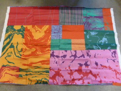 "Marimekko Finland Fujiwo Ishimoto ""Marras"" Unused Fabric Fresh Sateen Cotton   eBay"