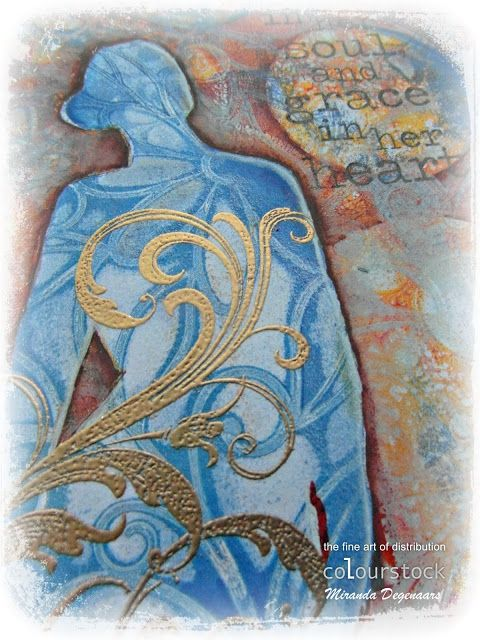 'Mir'acle Art Inspirations: gelli-arts colourstock