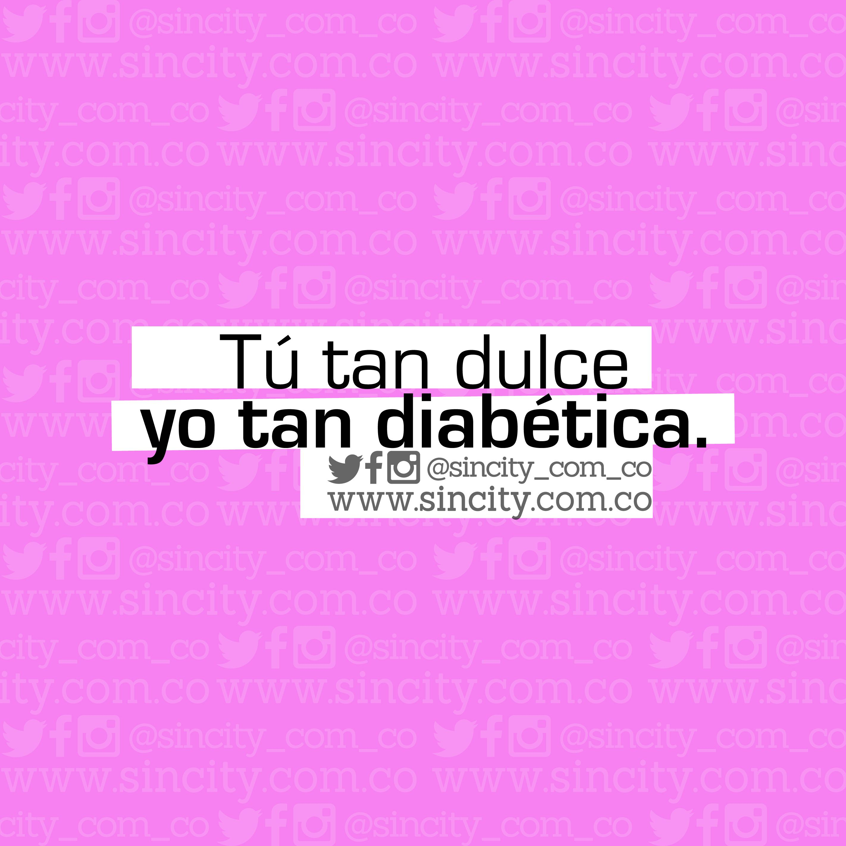 Yo tan #frío como el #hielo. #dulce #diabetes #candy #tútan #frases ...