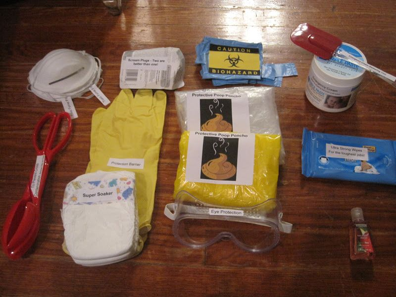 Pamper Me Gift Ideas: Crafting For Me: New Dad Survival Kit