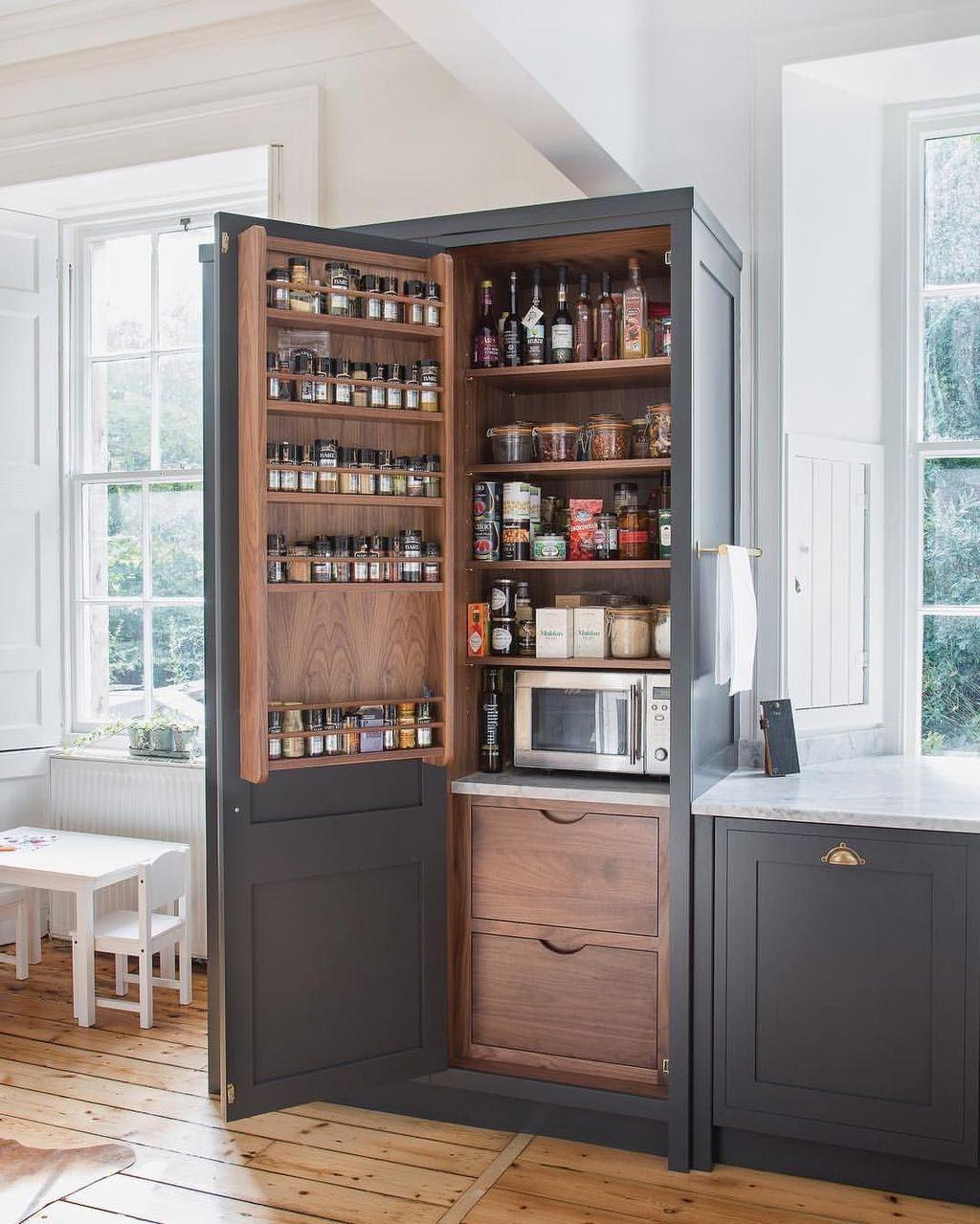 40 Fabulous Farmhouse Kitchen Cabinets Ideas Page 5 Of 44 Aidah Decor Kitchen Cabinet Styles Farmhouse Style Kitchen Farmhouse Style Kitchen Cabinets