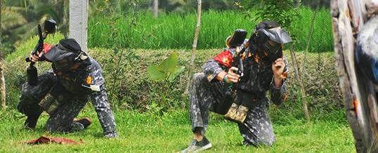 Paket Wisata Adventure Di Bali Paintball Hide Adventure