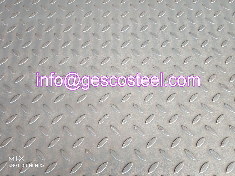 Checkered Steel Plate Steel Plate Steel Cold Rolled