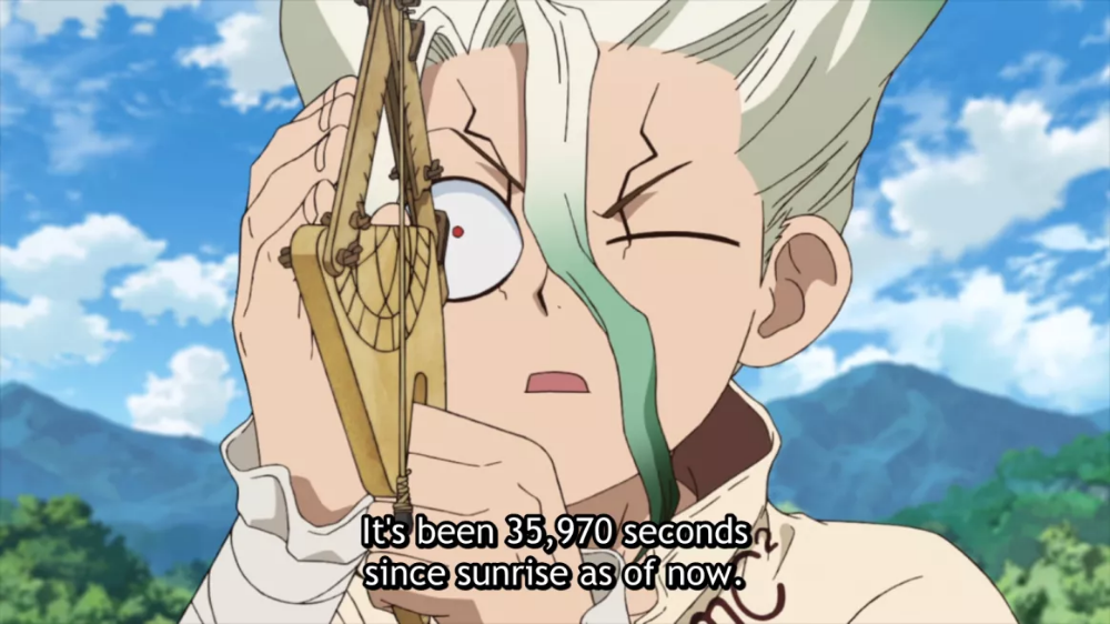 Dr. Stone Episode 3 Buddha Shows the Way (With images