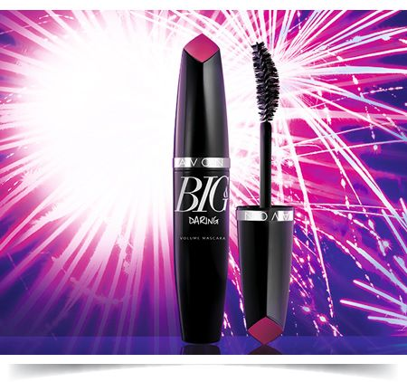 big and daring mascara no clumps, no smudges, wire curved brush to get 5x the volume now intro price 6.99