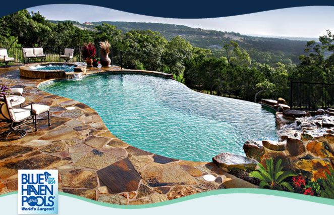 Backyard Free Form Pools | Blue Haven Pools And Spas Of Raleigh Is A Member  Of